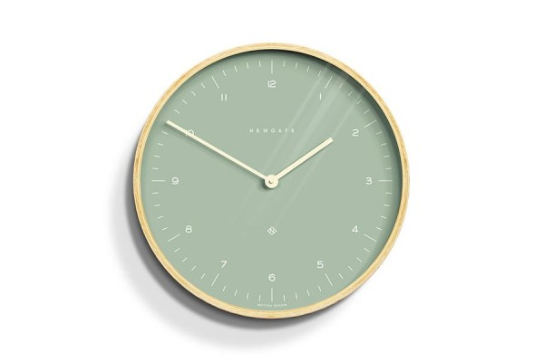 Newgate Mr Clarke Clock - Bubble Green