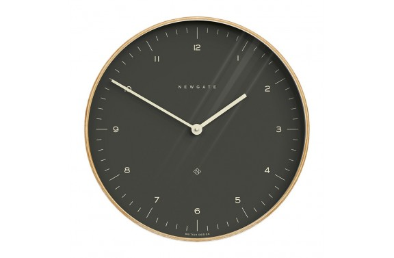 Newgate Mr Clarke Clock - Oil Grey