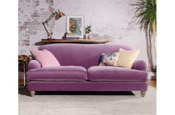 Notting Hill Large Sofa in Designers Guild Velvet from Anna Morgan (London)