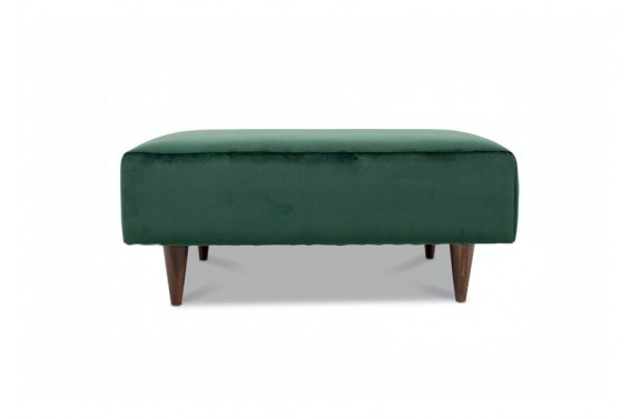 Camden Stool in Green Velvet from Anna Morgan (London)