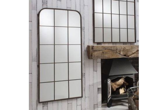 Industrial Rectangular Mirror