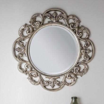 Baroque Silver Mirror
