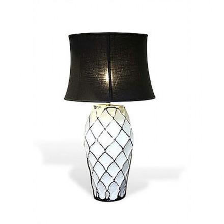 Abstract Trellis Lamp