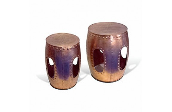 Moroccan Copper Drums