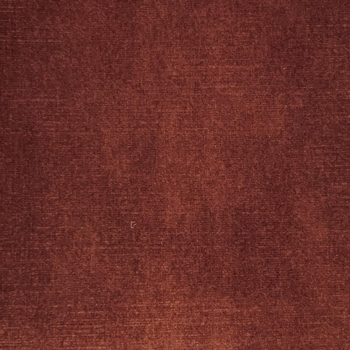 Umber Jewel Velvet Plain