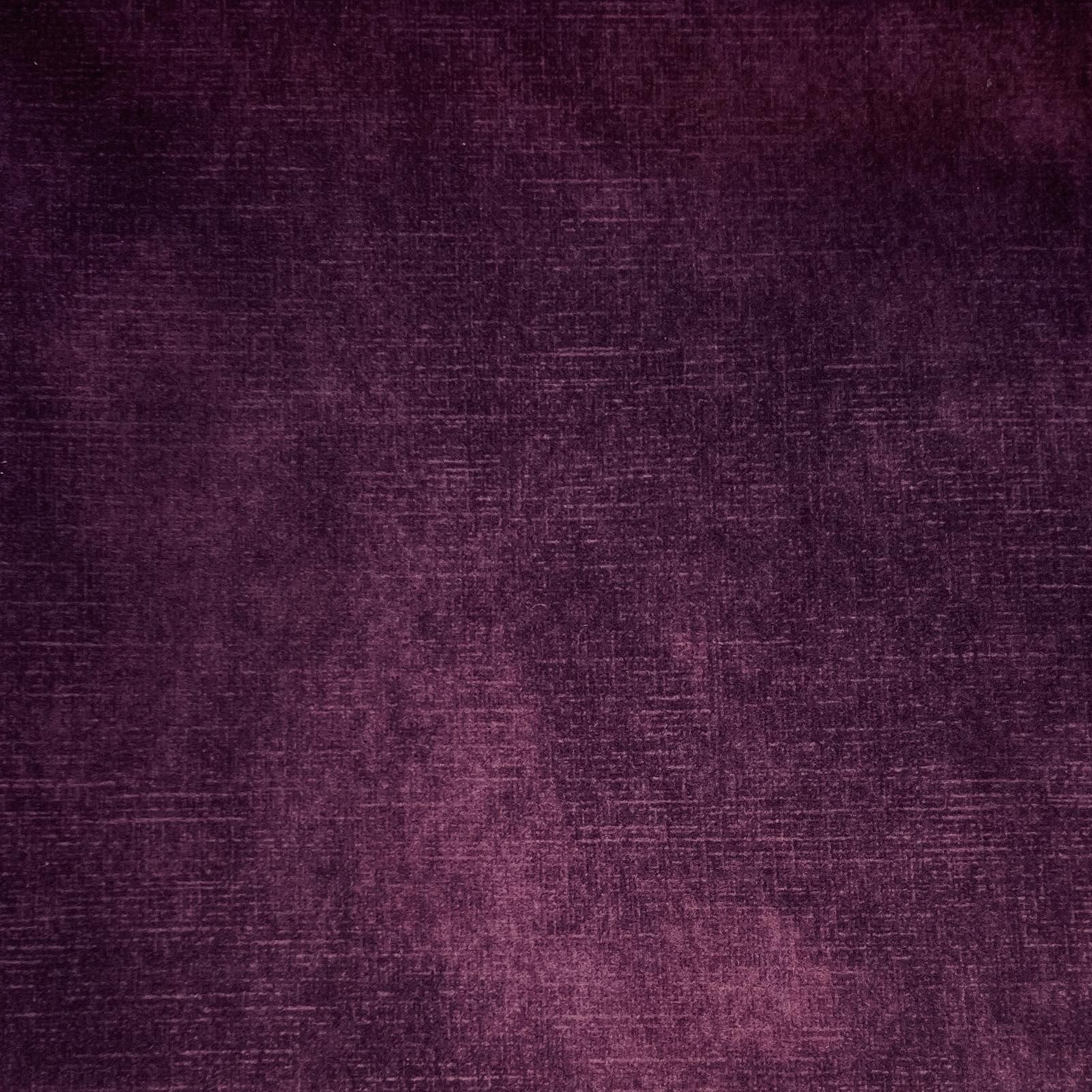 Aubergine Jewel Velvet Plain
