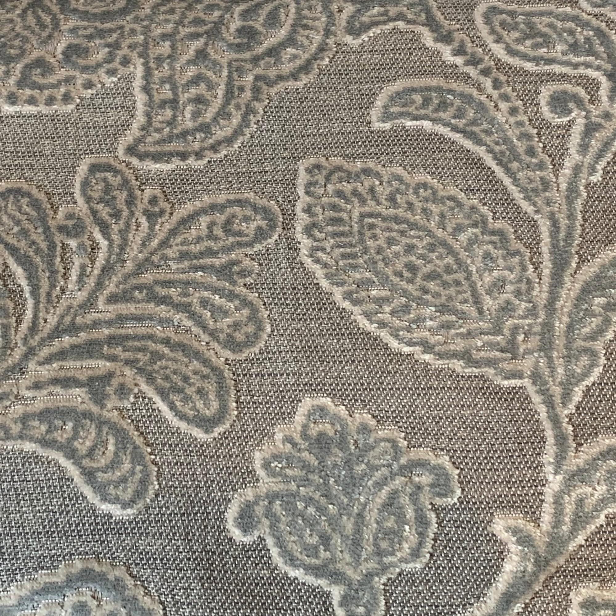 Silver Juliet Floral Velvet