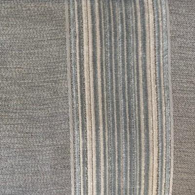 Silver Chicago Stripe Velvet