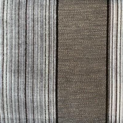 Charcoal Chicago Stripe Velvet