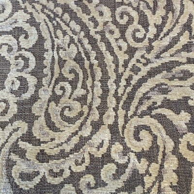 Ivory Burghley Chenille Paisley
