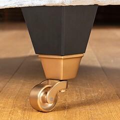 Chelsea Chair Ebony/bronze castor