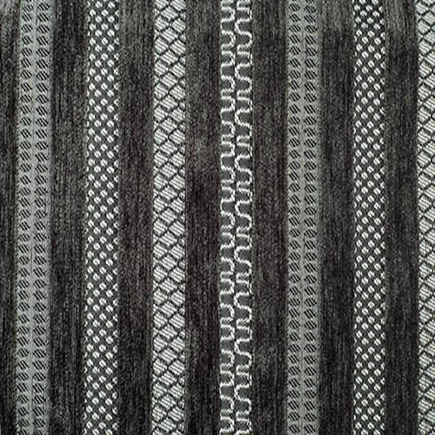 Lennox Stripe Charcoal