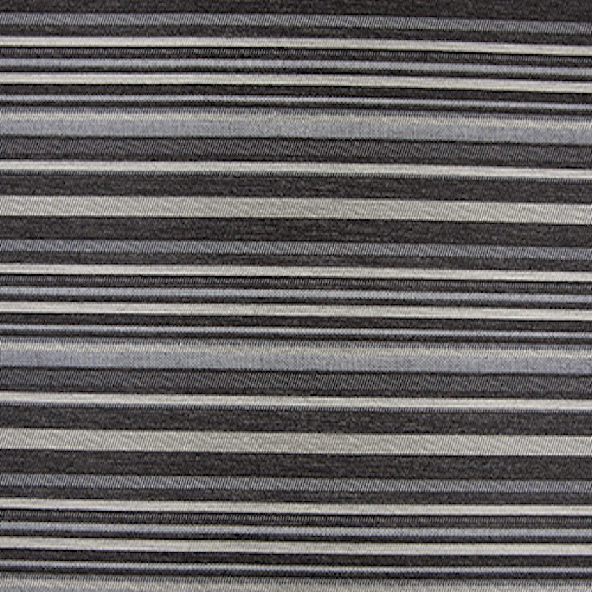 Viktor Stripe Black