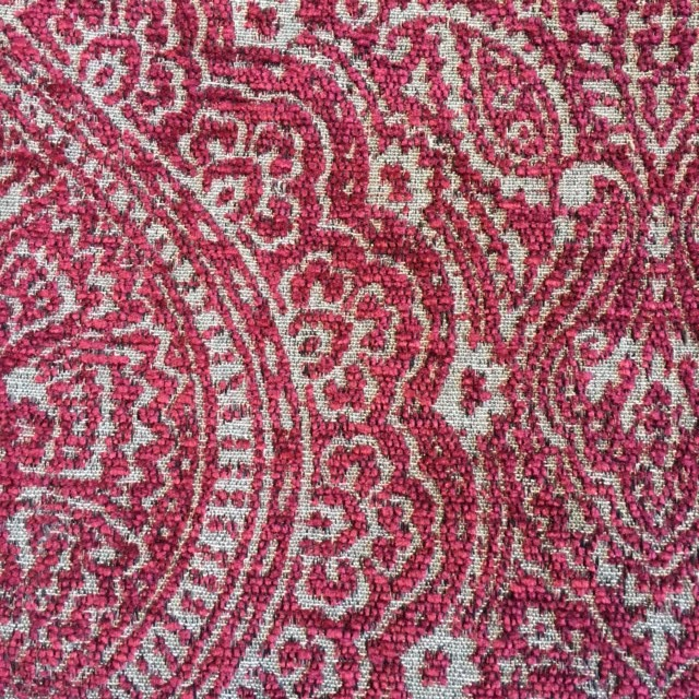 Ruby Medallion Chenille