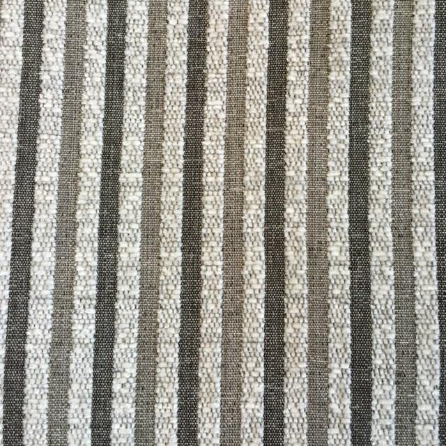 Silver Pinstripe Chenille