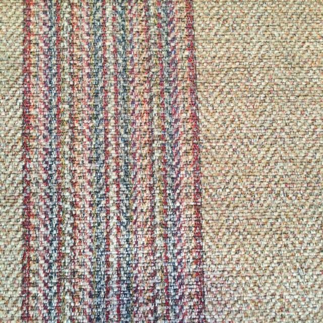 Gold Stripe Chenille