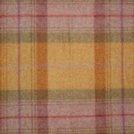 Autumn Gold Check Wool