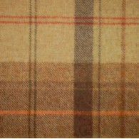 Toffee Apple Check Wool